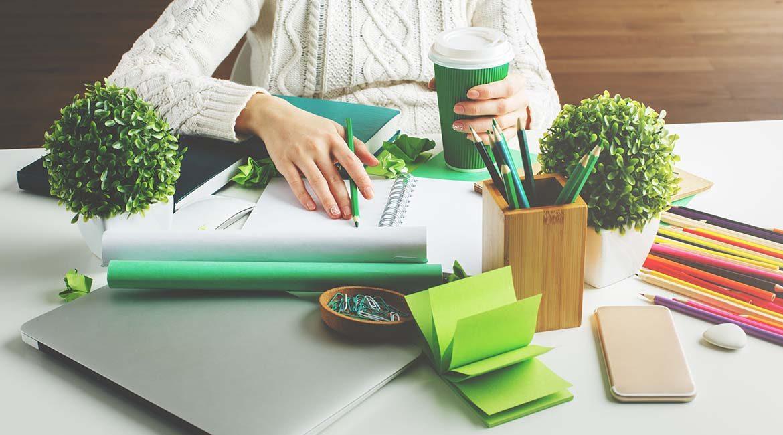 Ufficio green: 5 consigli per averne uno
