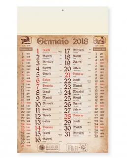 Calendario olandese Antico