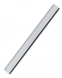 Righello in alluminio da stampare