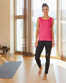 Canotta donna per fitness e sport