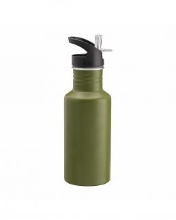 Bottiglia in alluminio cannuccia estraibile 600ml