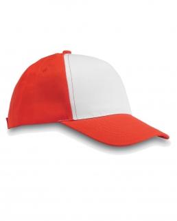 Cappellino da baseball con 5 pannelli