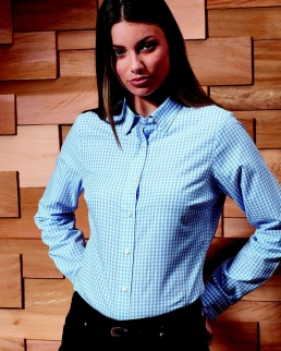 Maxton Check - Women's Long Sleeve Shirt