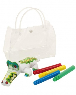Set per colorare CROCODILE
