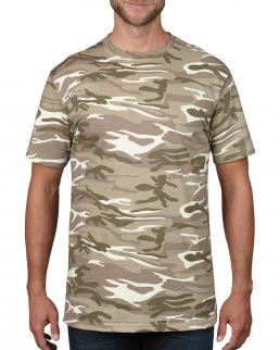 T-shirt Heavyweight Camouflage