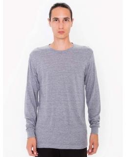 T-shirt unisex tri-blend maniche lunghe