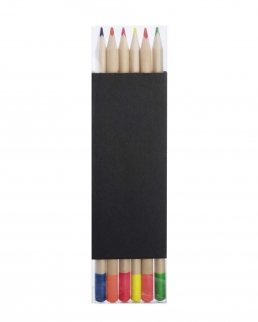 Set 6 matite evidenziatori Fluo Set