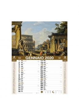 Calendario Roma 12 fogli