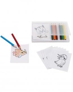 Set per colorare CRAZY ANIMALS