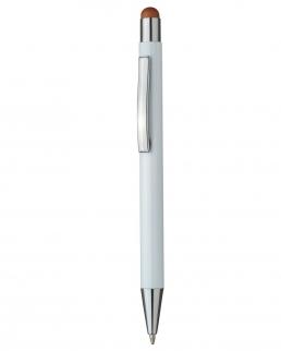 Touch pen a scatto in alluminio
