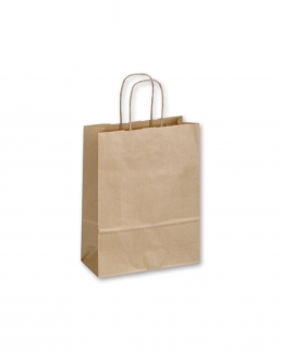 Shopper in carta solfata Twister natura