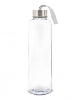 Bottiglia di vetro con tappo in metallo da 500 ml