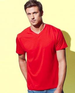 T-shirt con collo a V Classic V-neck Men