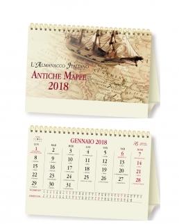 Calendario da tavolo Antiche Mappe