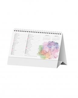 Calendario da tavolo Design