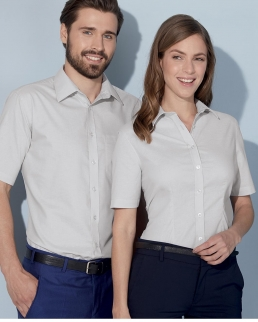 Camicia Shortsleeve Oxford Uomo