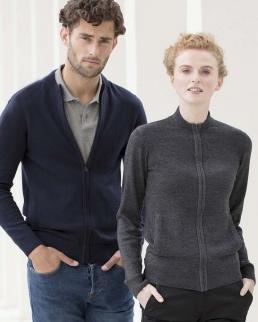 Unisex knitted bomber jacket