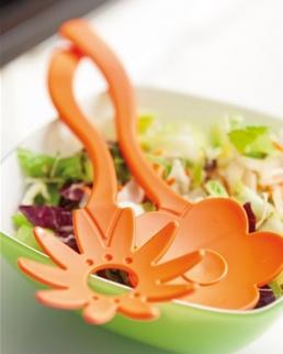 Posate per insalata Flower