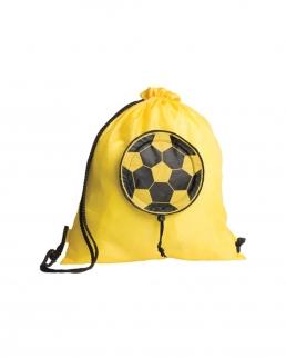 Sacca zaino bicolore nylon 190D Goal