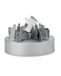 Clip magnetiche con base in metallo