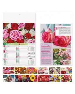 Calendario mensile Fiori