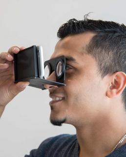 Mini occhiali VR