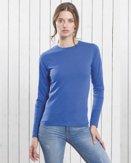 T-shirt donna Regular manica lunga