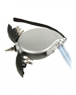 Set cacciaviti con flessometro e luce