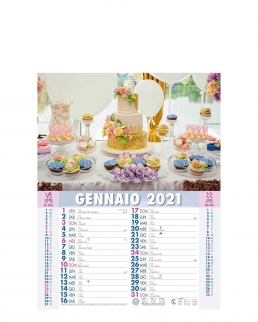 Calendario Dolci