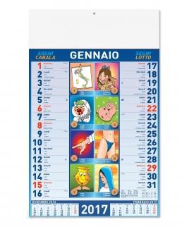 Calendario Mensile Smorfia