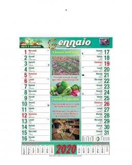 Calendario Giardino 12 fogli