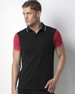 Polo Contrast Tipped