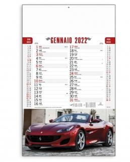 Calendario Auto sportive