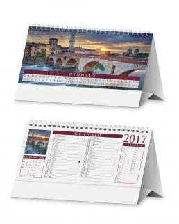 Calendario da tavolo Città D'Italia