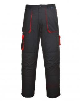Pantaloni con colori in contrasto