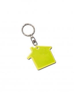 Portachiavi fluorescente casa