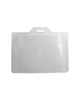Porta tessera in PVC trasparente