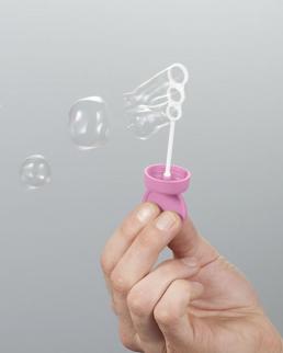 Tubo per bolle di sapone