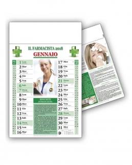 Calendario Consigli del farmacista Mensile 12 fogli