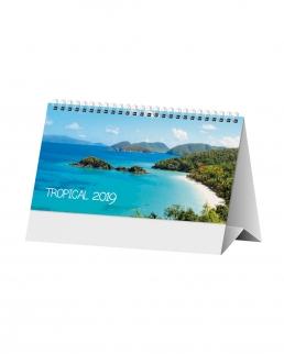 Calendario da tavolo Tropical