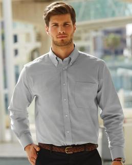 Camicia uomo Oxford maniche lunghe