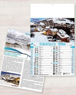 Calendario olandese illustrato Mari e Monti Italia