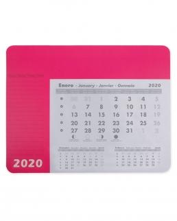 Tappetino con calendario 12 fogli