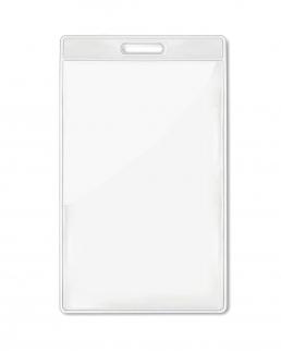 Porta badge trasparente