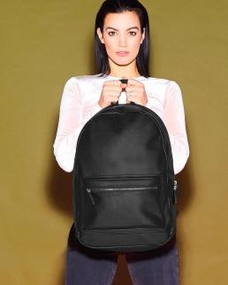 Zaino Faux Leather Fashion Backpack