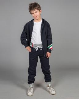 Pantalone bambino in felpa made in Italy Sorrento boy