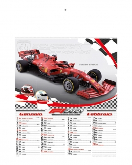 Calendario Formula 1 6 fogli