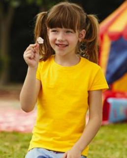 T-shirt bambina Value Weight