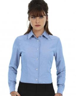 Camicia donna maniche lunghe Oxford