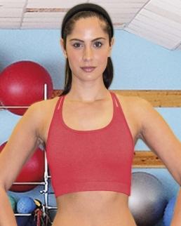 Top donna Fitness Crop